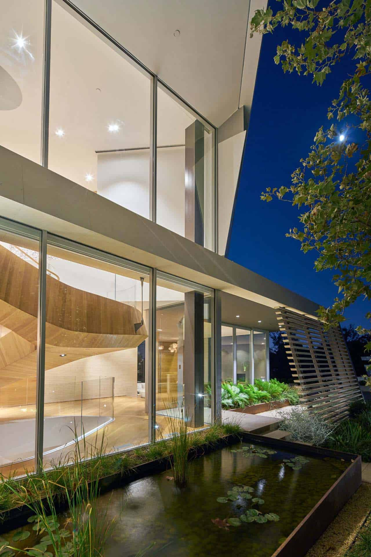 Contemporary Treetop Residence-Belzberg Architects-17-1 Kindesign