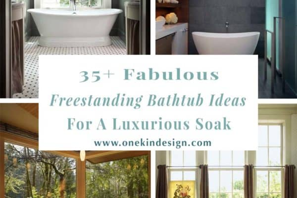 featured posts image for 35+ Fabulous freestanding bathtub ideas for a luxurious soak