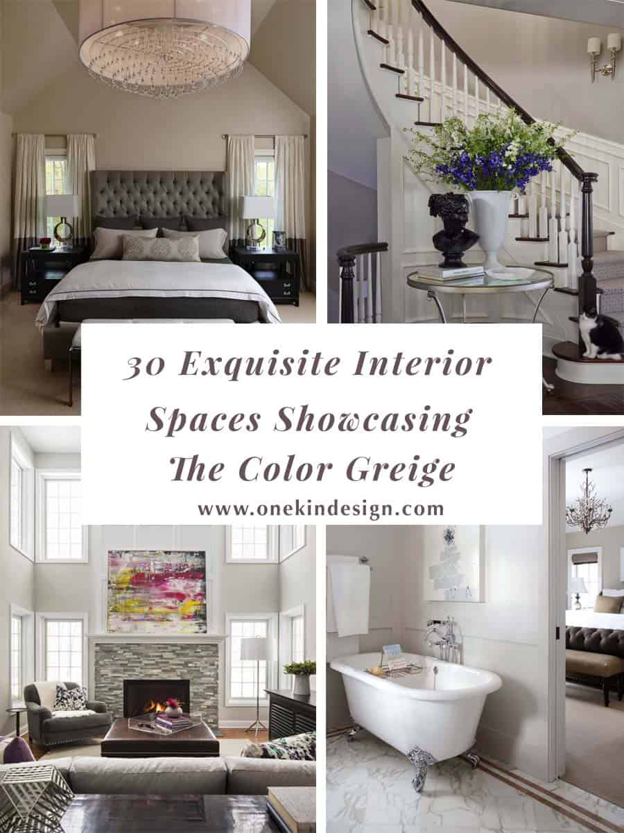 Outstanding 30 Exquisite Interior Spaces Showcasing The Color Greige Theyellowbook Wood Chair Design Ideas Theyellowbookinfo