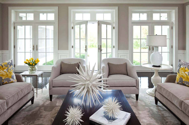 Interior Spaces Showcasing Color Greige 22 1 Kindesign
