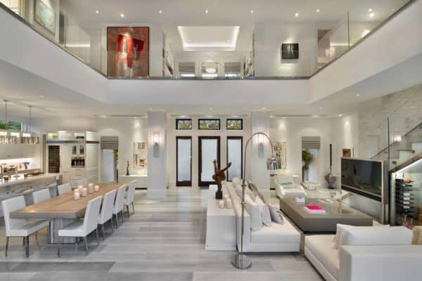 featured posts image for Exquisite modern coastal home in Florida with luminous interiors