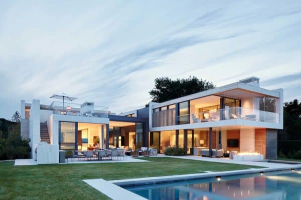 featured posts image for Sumptuous two-level modern waterfront property on Sag Harbor Bay