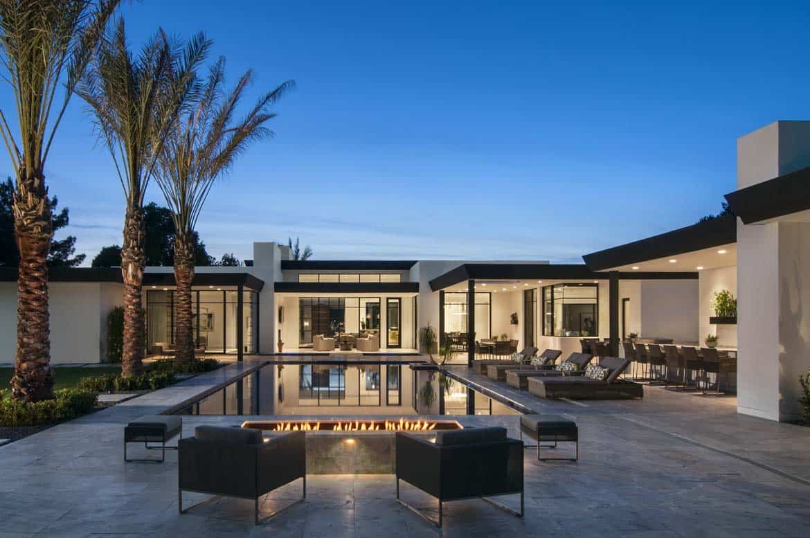 Bali Inspired Home Offers A Peaceful Oasis In The Arizona Desert