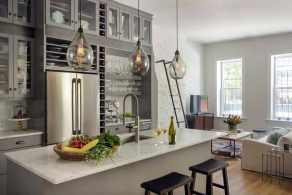 featured posts image for Chic Boston Brownstone gets a remarkable transformation