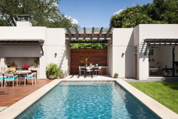 featured posts image for Backyard oasis in Austin with fabulous outdoor living spaces