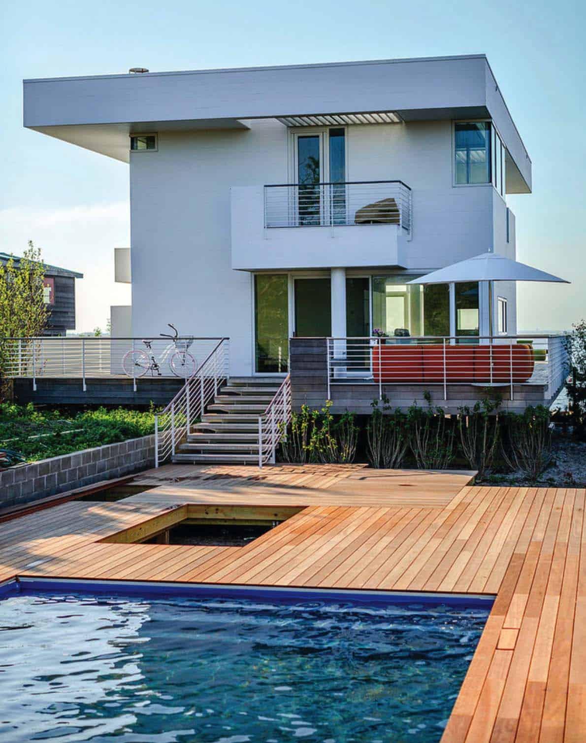 Contemporary Beach House-16-1 Kindesign