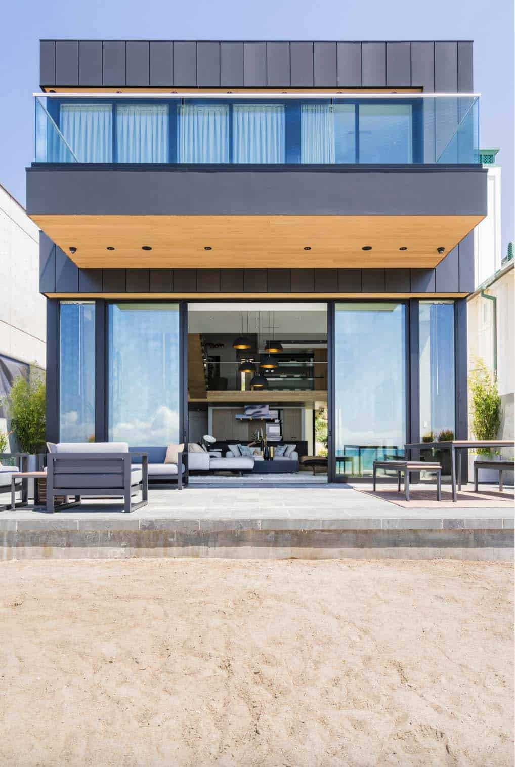 Contemporary Beach House-Brandon Architects-01-1 Kindesign