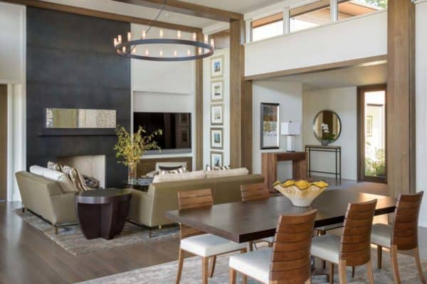 featured posts image for Lakefront residence with sophisticated interiors in Washington