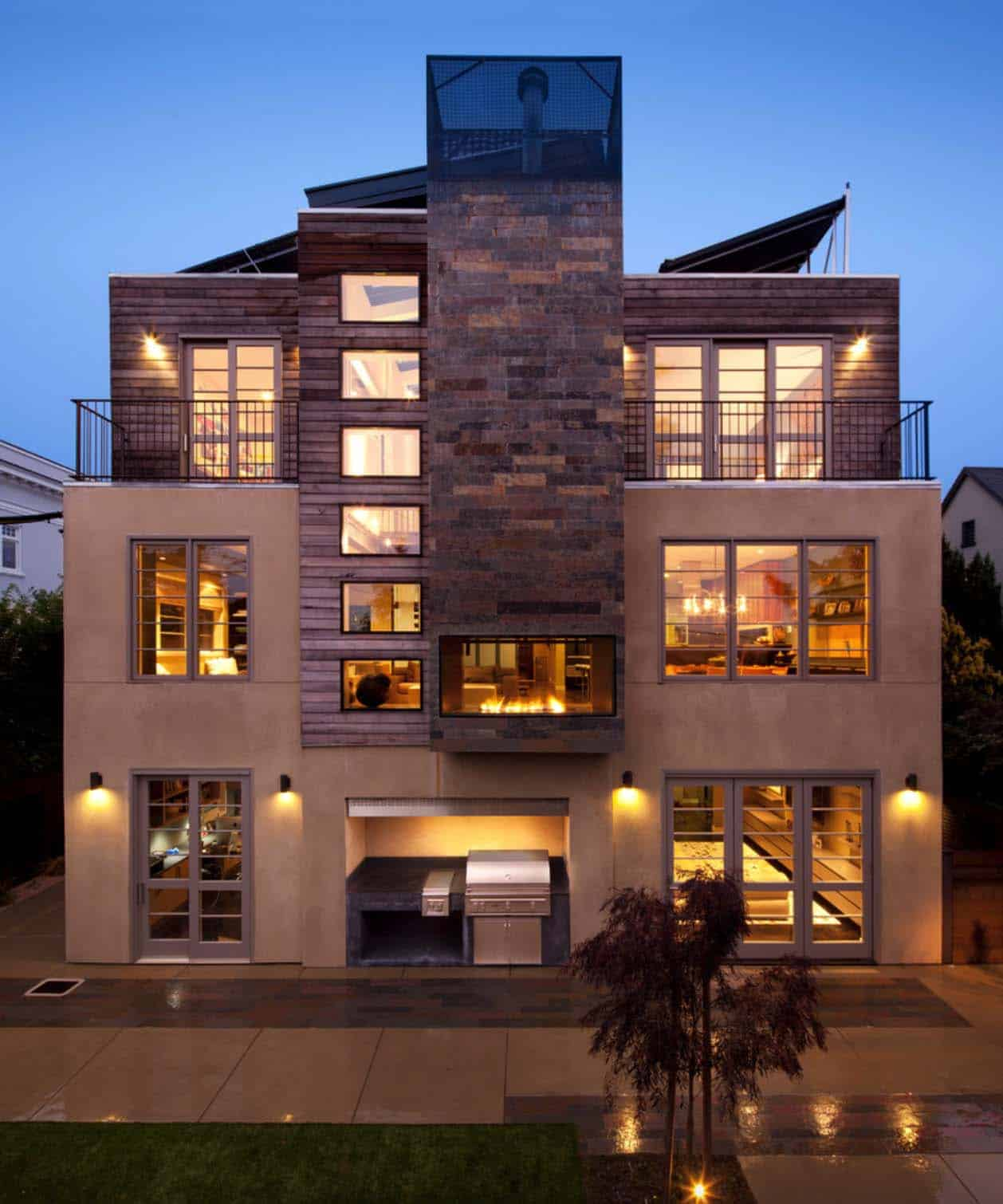 Modern Home Design Ideas Exterior: 1940s Mission-style House Gets Brilliant Transformation In