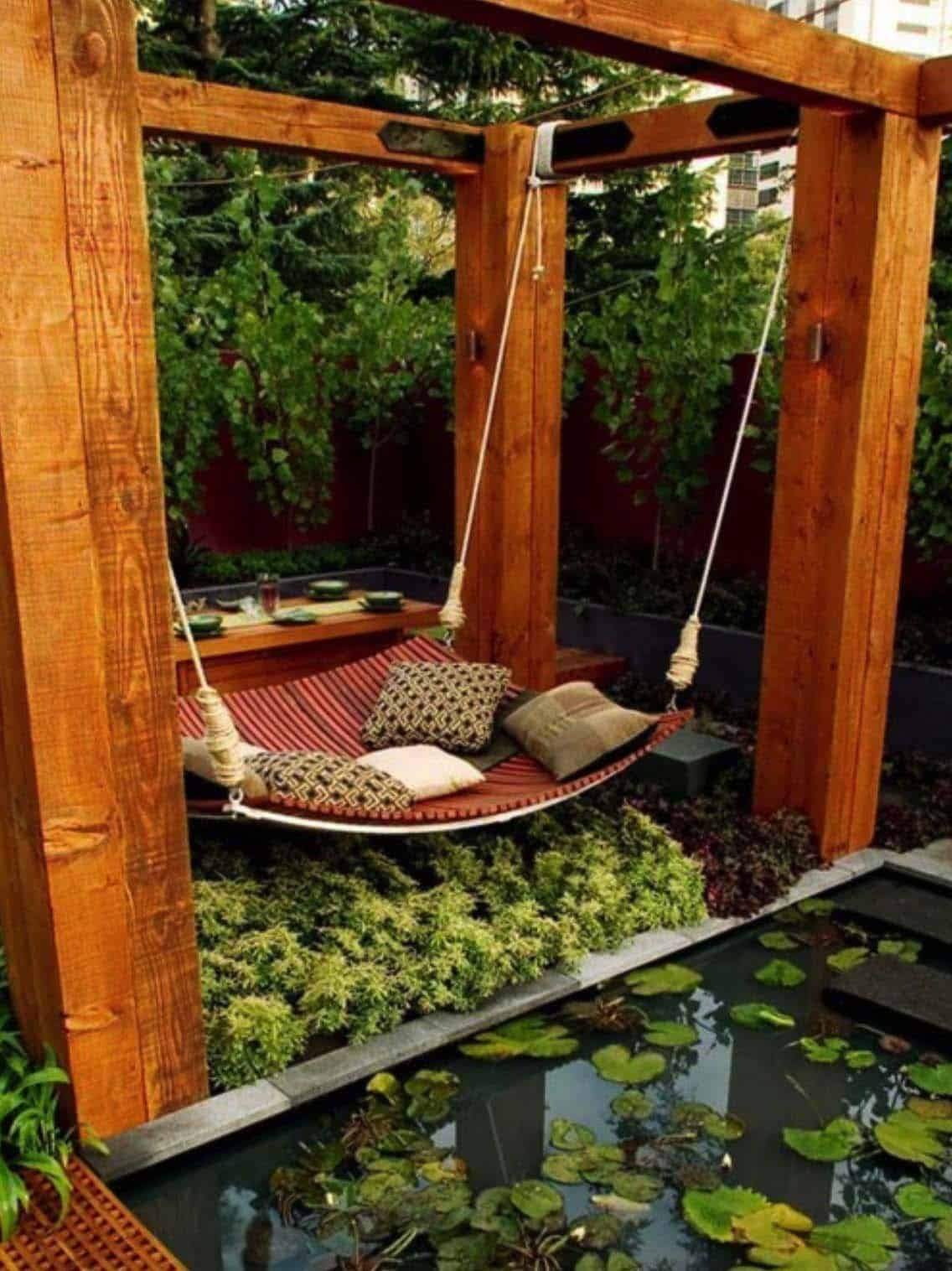 Heavenly Outdoor Hammock Ideas-16-1 Kindesign