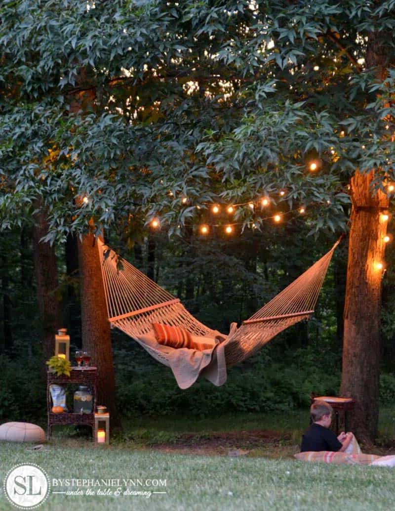 Heavenly Outdoor Hammock Ideas-19-1 Kindesign