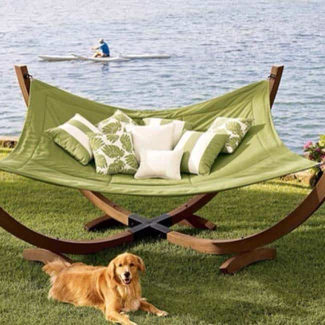 Heavenly Outdoor Hammock Ideas-24-1 Kindesign