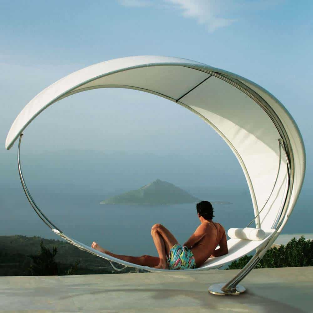 Heavenly Outdoor Hammock Ideas-29-1 Kindesign