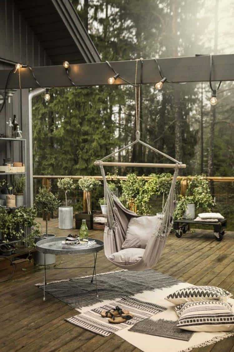 Heavenly Outdoor Hammock Ideas-31-1 Kindesign
