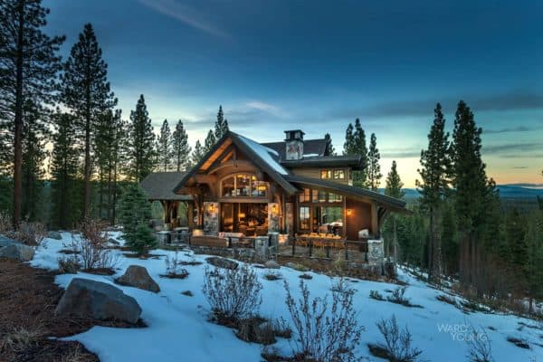 featured posts image for Lodge style home blends rustic-contemporary in Martis Camp