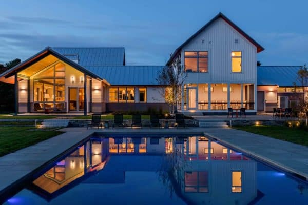 featured posts image for Modern retreat in Vermont inspired by a meadow landscape