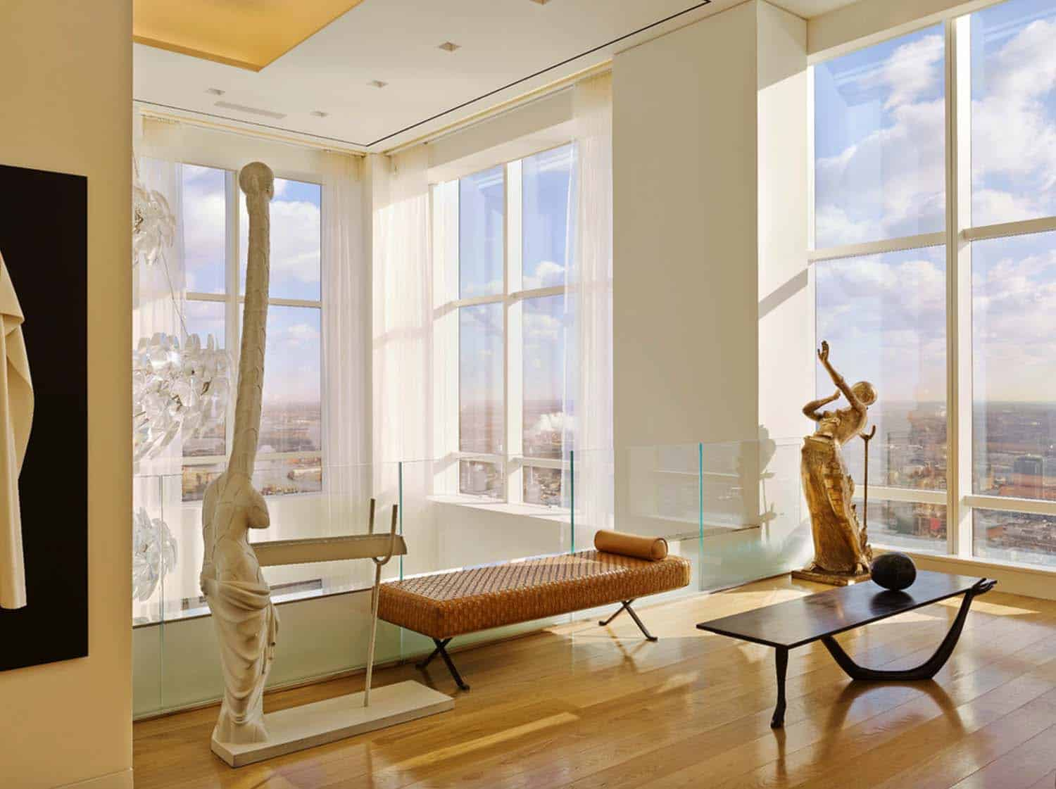 Step inside this jaw dropping new york city penthouse - Stylish penthouse interior design introducing the charming minimalism ...