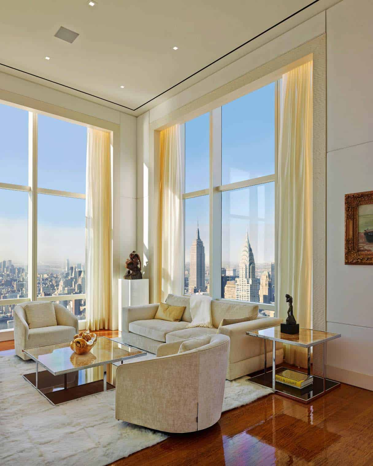 New York Apartments Inside: Step Inside This Jaw-dropping New York City Penthouse