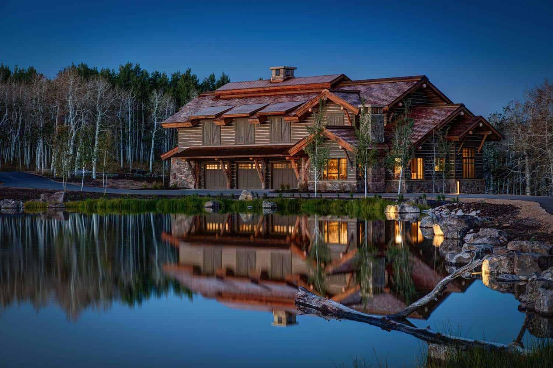 Modern-Rustic Mountain Residence-02-1 Kindesign