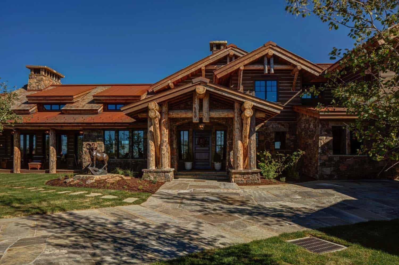 Modern-Rustic Mountain Residence-04-1 Kindesign