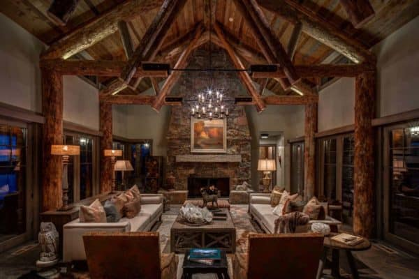 featured posts image for Utah mountain residence features a rustic yet elegant atmosphere