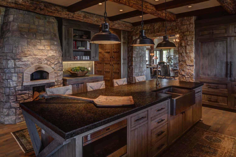 Modern-Rustic Mountain Residence-11-1 Kindesign
