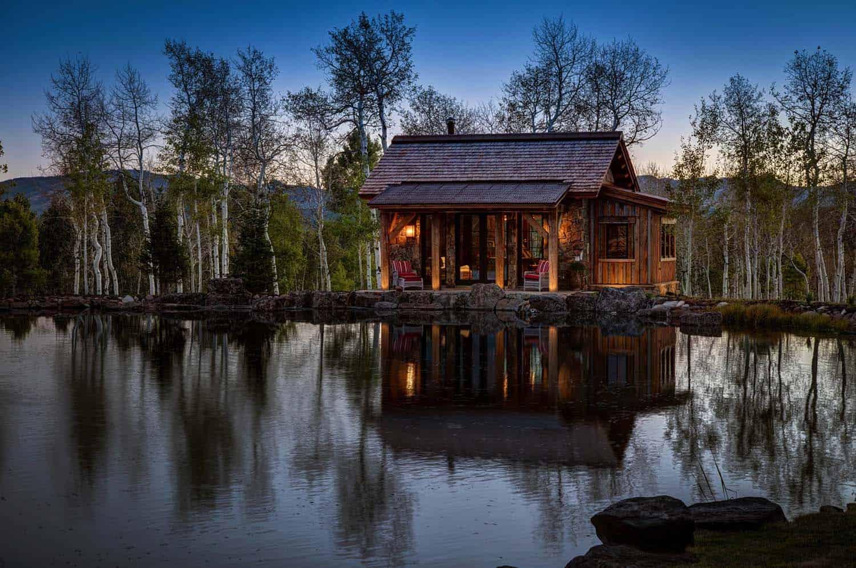 Modern-Rustic Mountain Residence-23-1 Kindesign