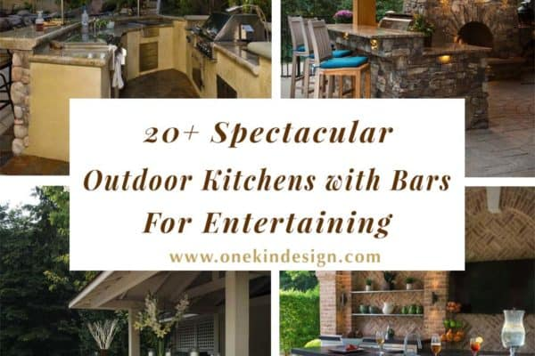 featured posts image for 20+ Spectacular outdoor kitchens with bars for entertaining