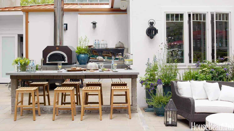 Outdoor Kitchen Bar Designs