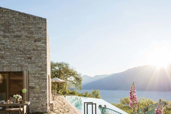 featured posts image for Stone clad retreat with breathtaking views of Lake Garda, Italy