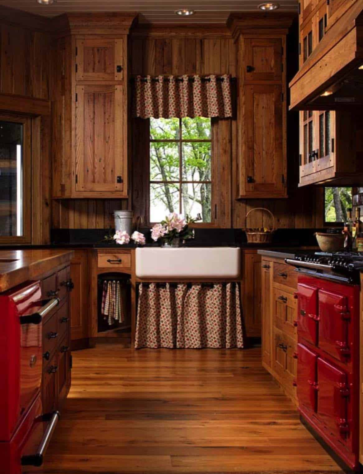 Lm Design Custom Cabinetry North Carolina ~ Dreamy cabin retreat perched on a rocky mountainside in