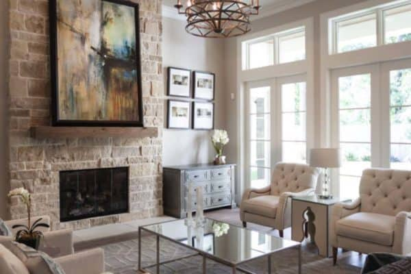 featured posts image for Gorgeous Woodlands Reserve home features warm and inviting interiors