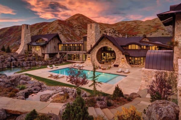 featured posts image for Insane mountain dream home with views of the Wasatch Range, Utah
