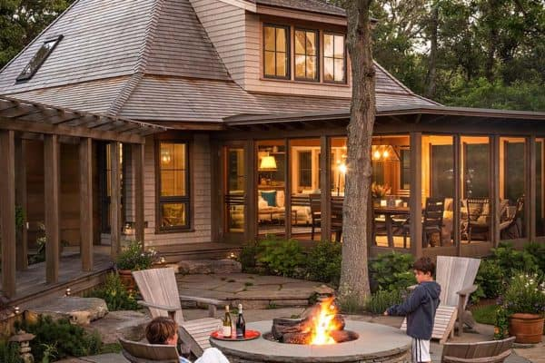 featured posts image for Woodland retreat on Martha's Vineyard with ultimate indoor-outdoor living