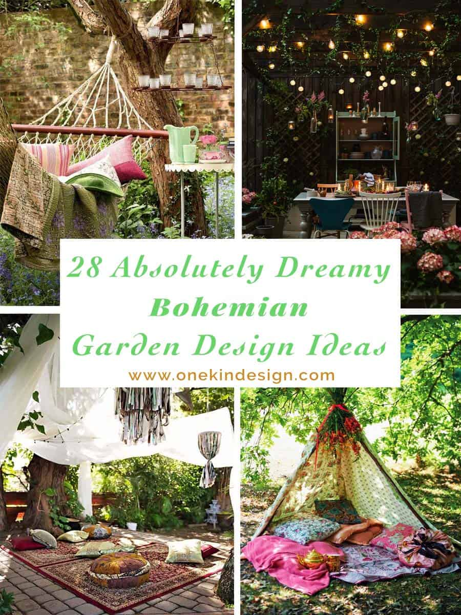 Bohemian Garden Design Ideas 00 1 Kindesign