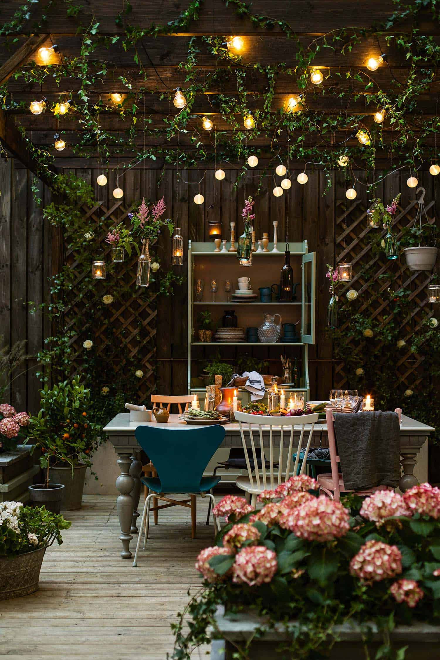 bohemian garden design ideas 01 1 kindesign - Brown Garden Design