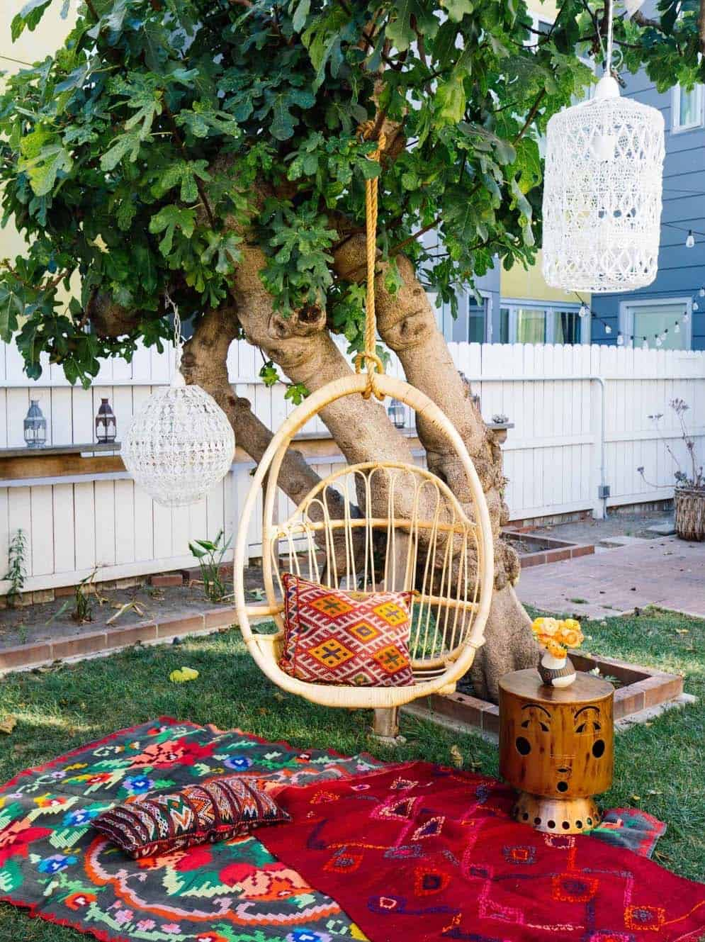 28 Absolutely dreamy Bohemian garden design ideas on Bohemian Patio Ideas id=25828