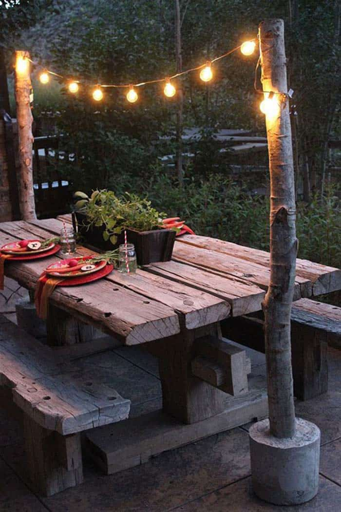 Bohemian Garden Design Ideas-09-1 Kindesign