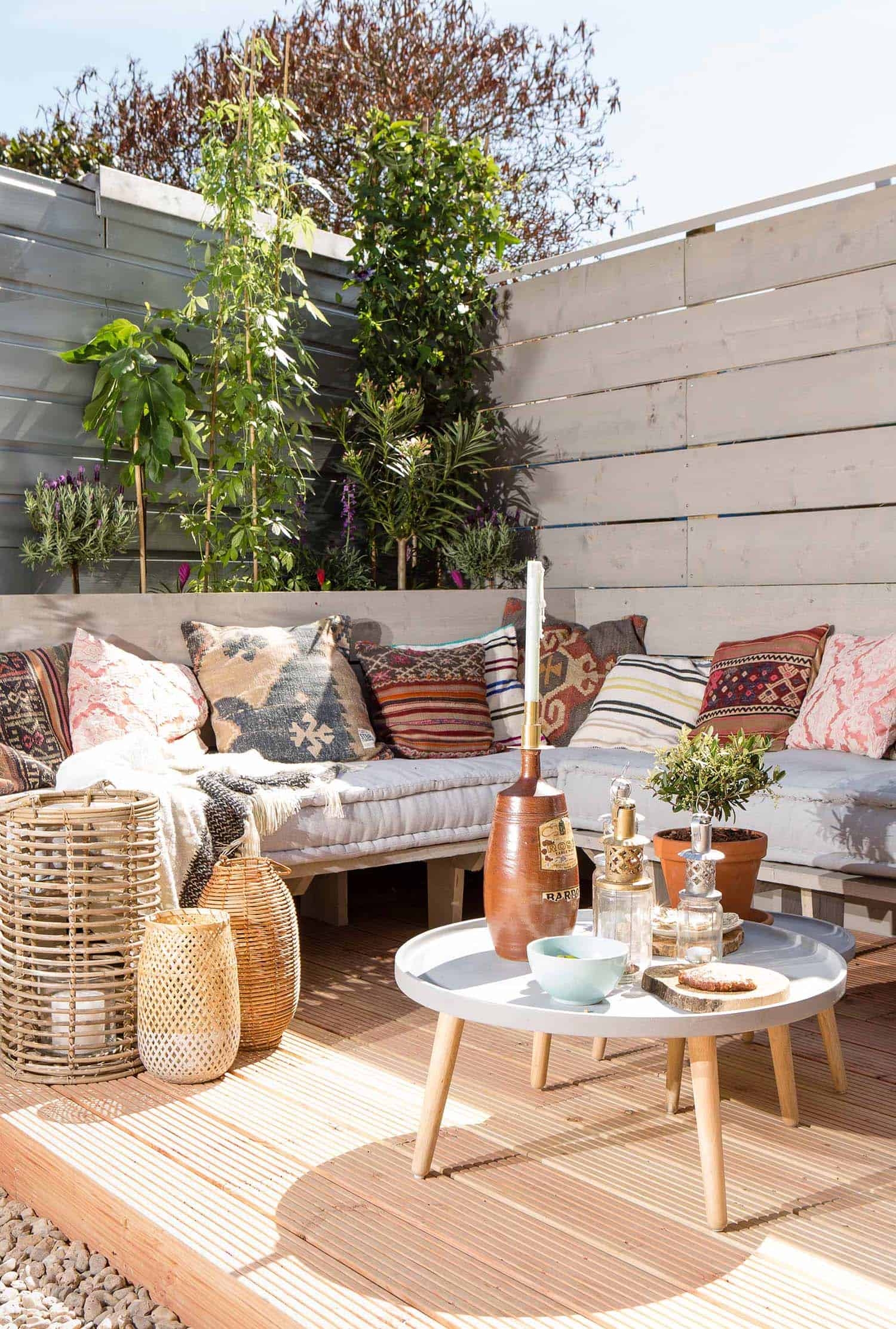 Bohemian Garden Design Ideas-10-1 Kindesign