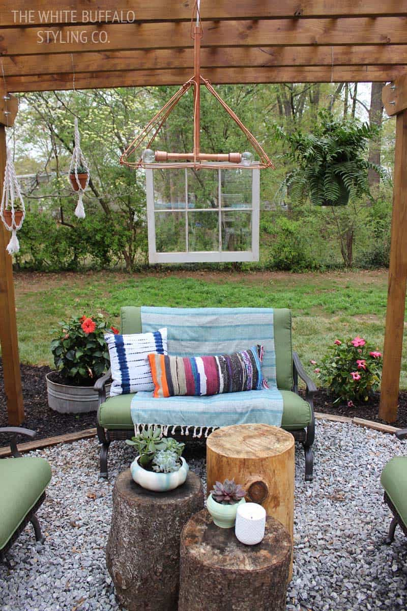 28 Absolutely dreamy Bohemian garden design ideas on Bohemian Patio Ideas id=24460