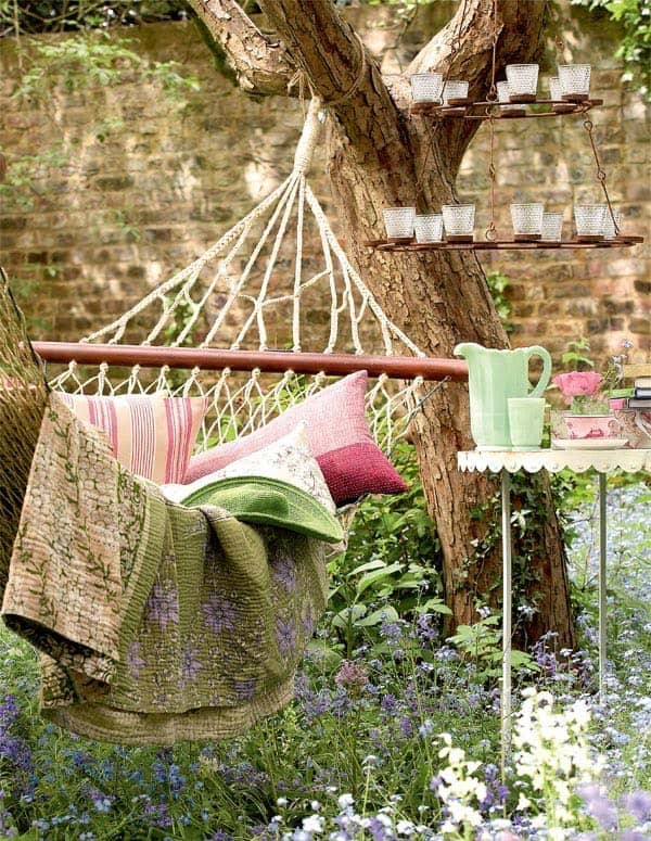 Bohemian Garden Design Ideas-18-1 Kindesign
