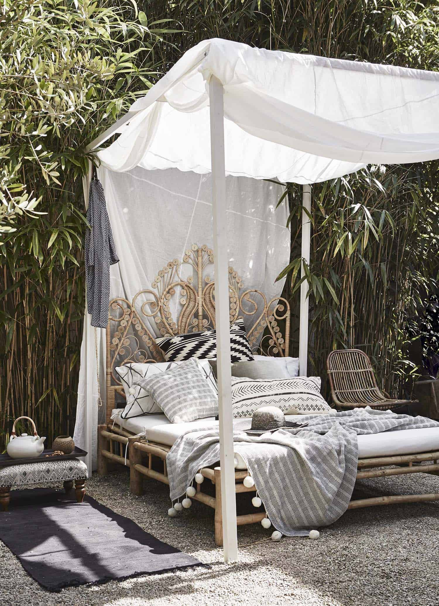 Bohemian Garden Design Ideas-25-1 Kindesign