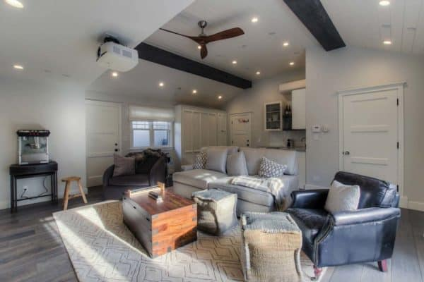 featured posts image for Garage conversion to cool entertainment space in Santa Monica