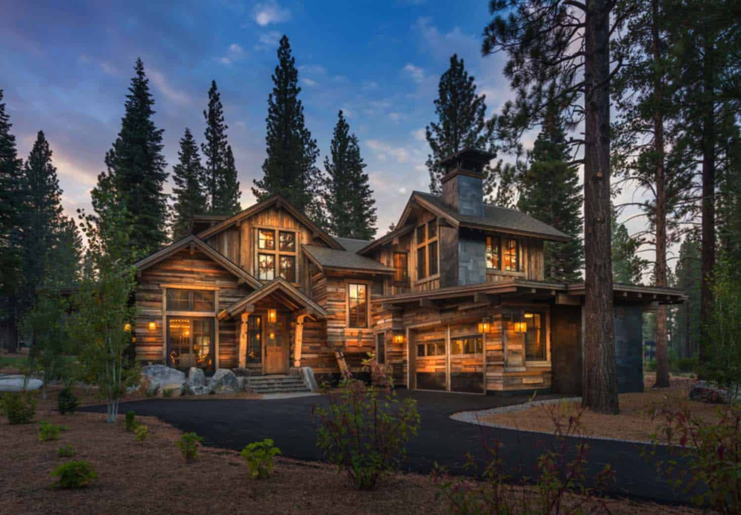 Cozy mountain style cabin getaway in martis camp california for The mountain house