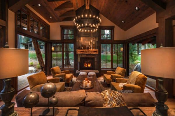 featured posts image for Cozy mountain style cabin getaway in Martis Camp, California
