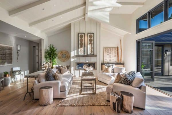 featured posts image for Breathtaking modern farmhouse style retreat in Napa Valley
