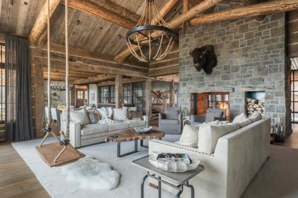 featured posts image for A rustic chic family hideaway in Big Sky: Freedom Lodge