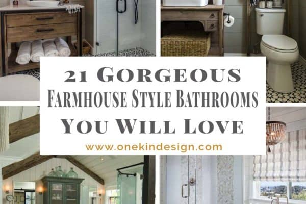 featured posts image for 21 Gorgeous farmhouse style bathrooms you will love
