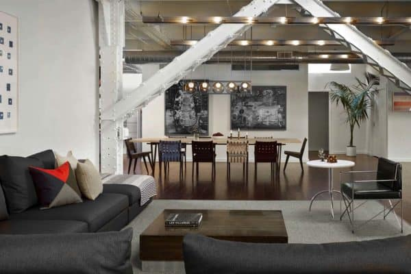 featured posts image for Dramatic loft for live/work and entertaining in historic SOMA building