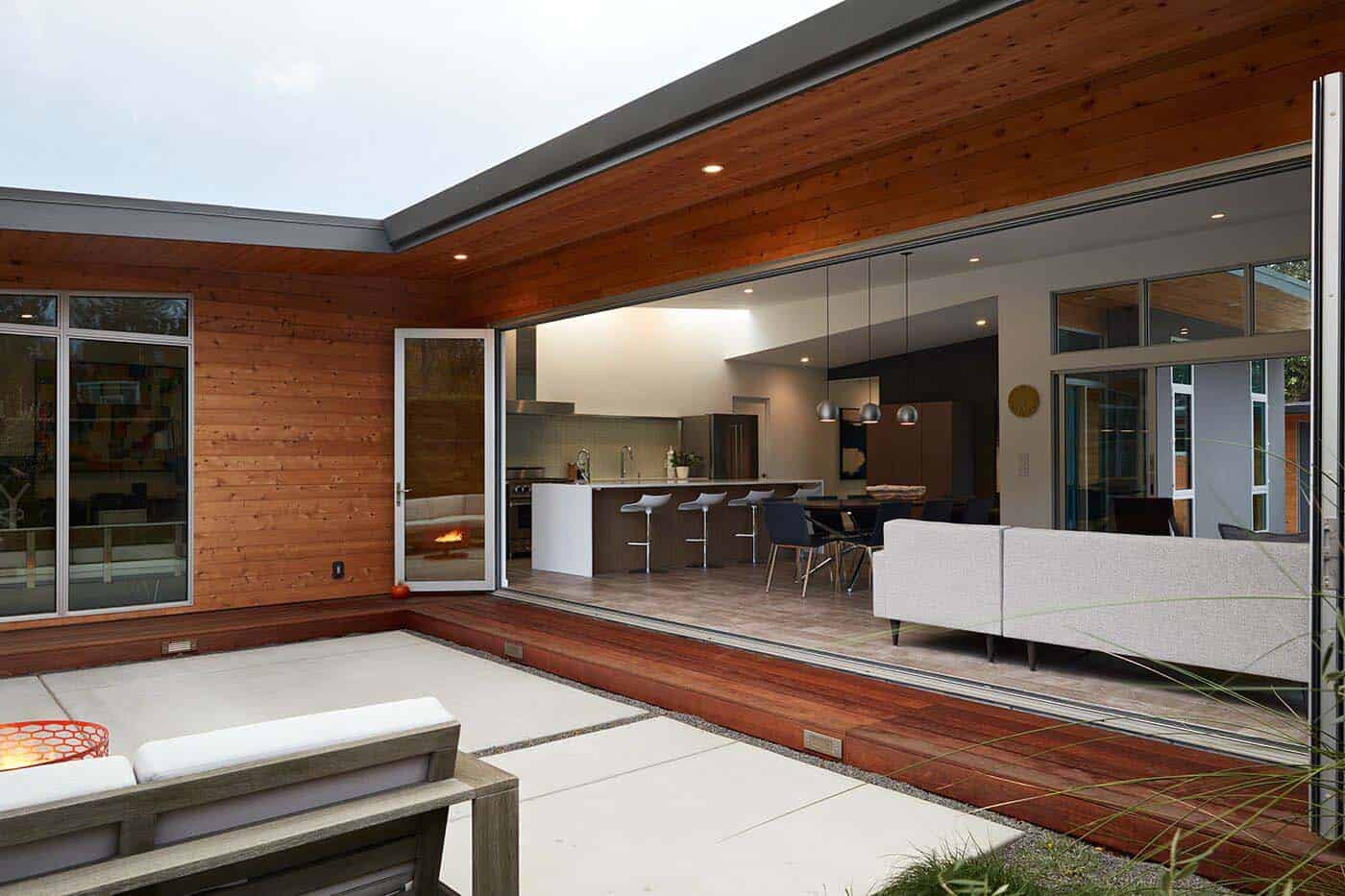 Mid-Century Modern Dwelling-Klopf Architecture-14-1 Kindesign